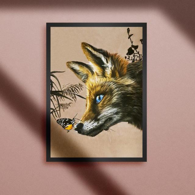Portrait renard